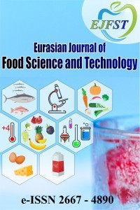 Eurasian Journal of Food Science and Technology