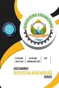 Uluslararası Biyosistem Mühendisliği Dergisi