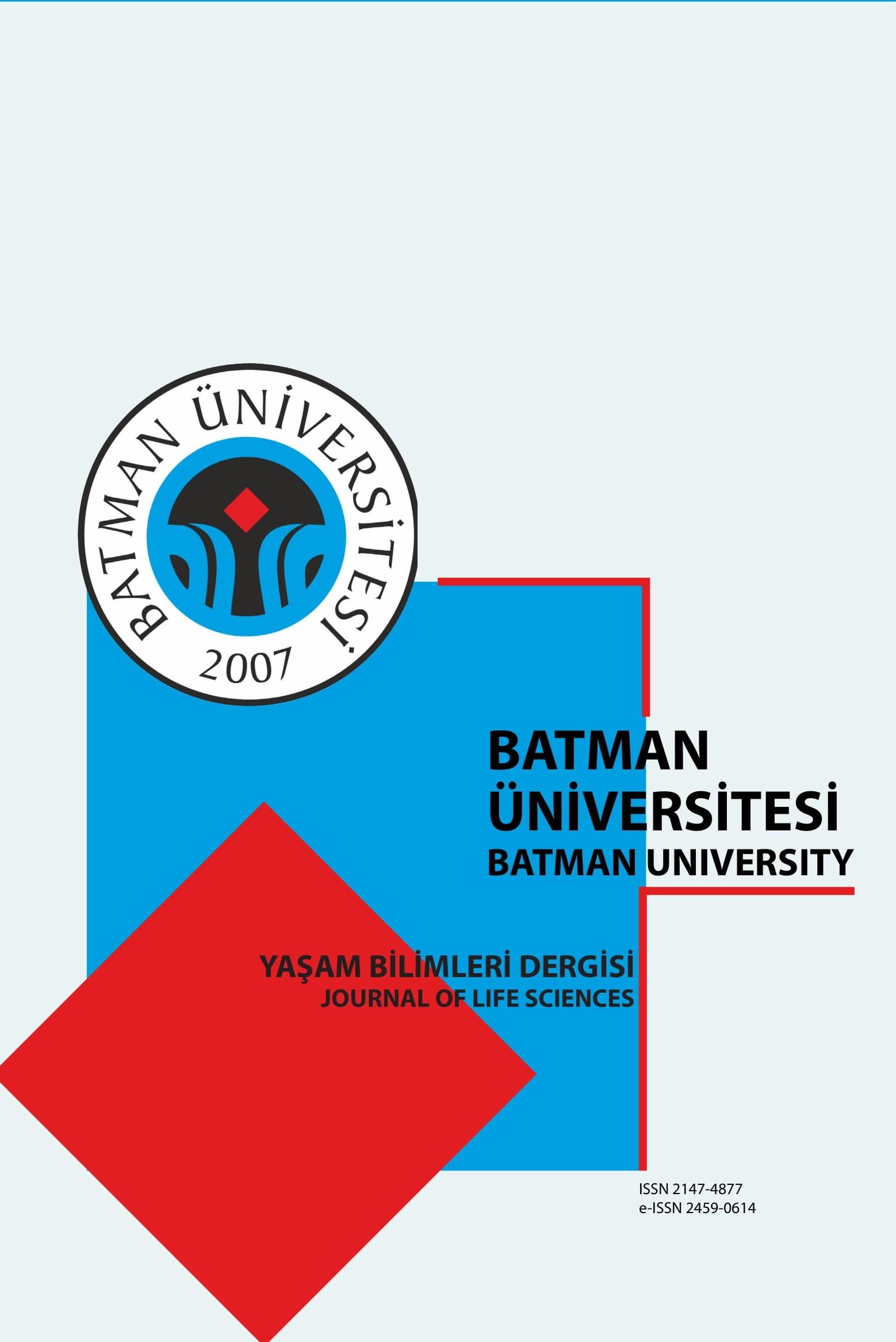Batman Üniversitesi Yaşam Bilimleri Dergisi