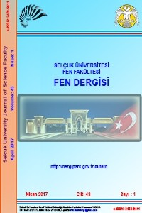 Selcuk University Journal of  Science Faculty