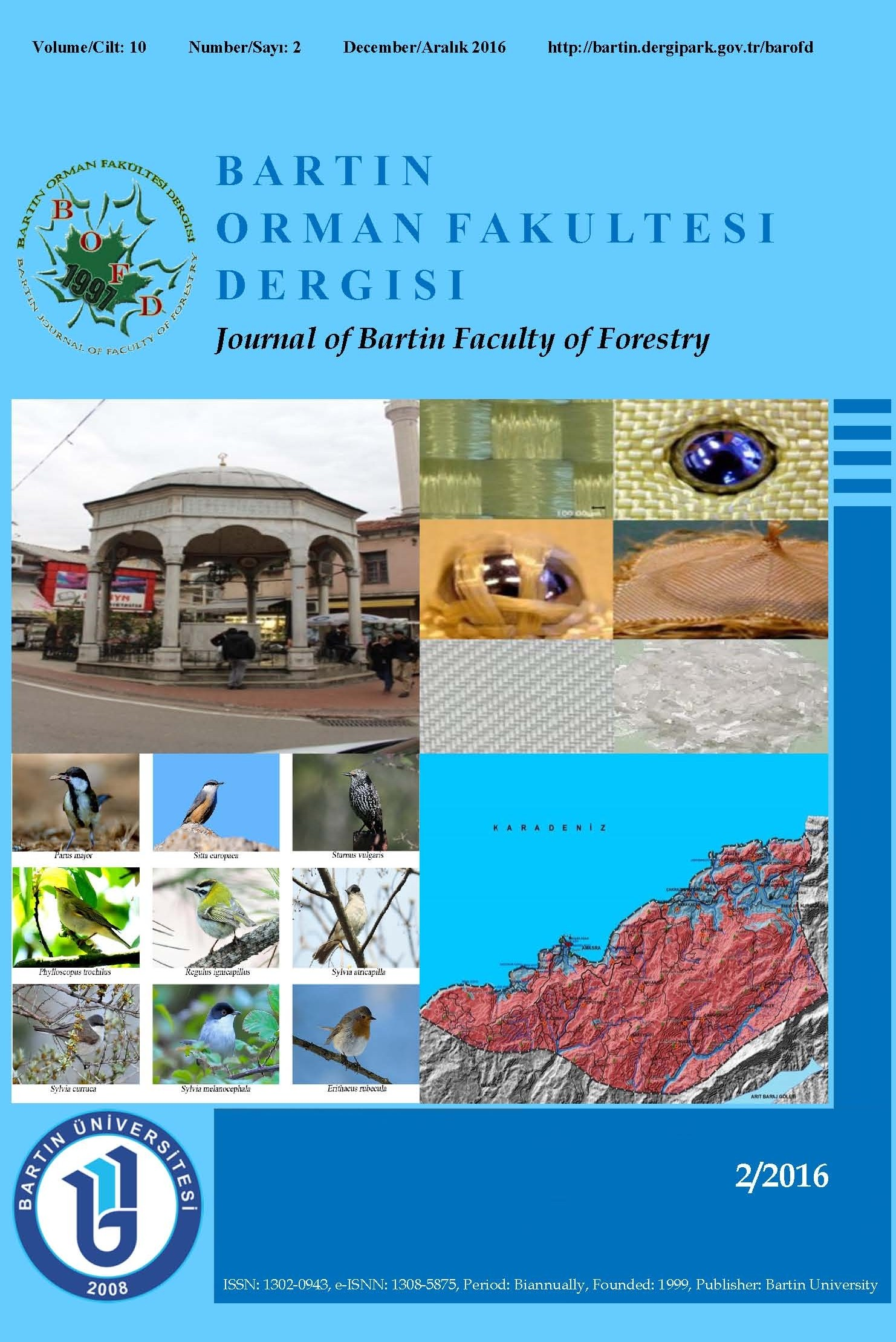 Journal of Bartin Faculty of Forestry