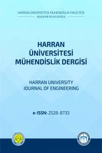 Harran University Journal of Engineering