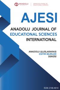 Anadolu Journal of Educational Sciences International