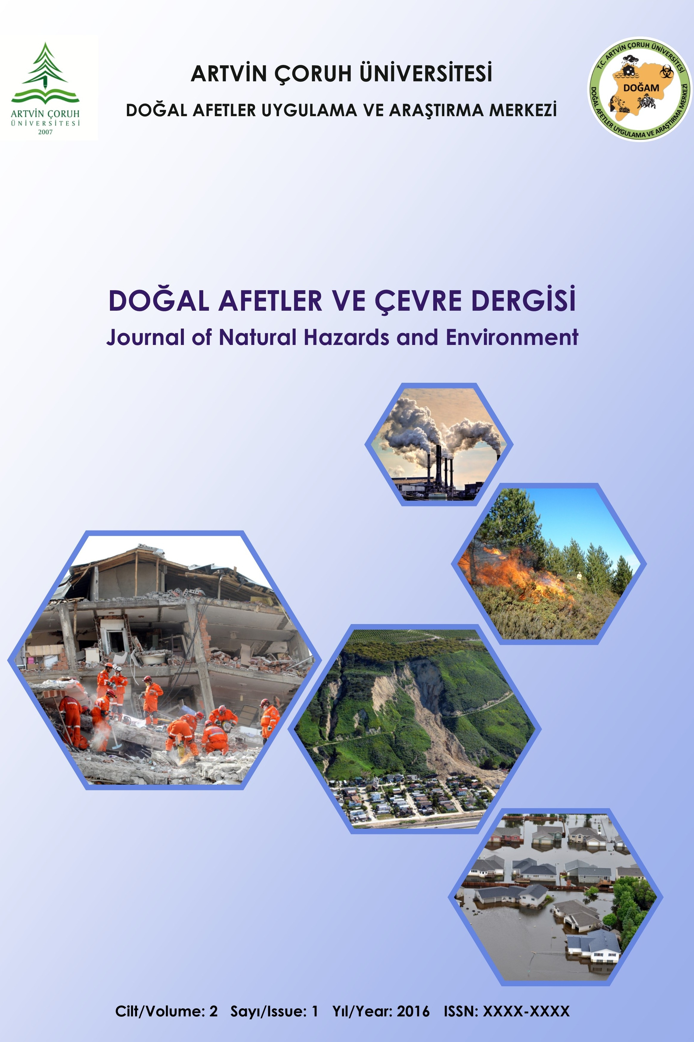 Journal of Natural Hazards and Environment