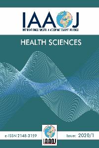 International Anatolia Academic Online Journal Health Sciences