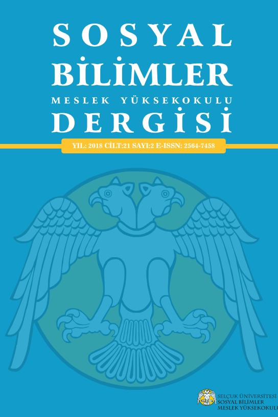 Journal of Selçuk University Social Sciences Vocational School