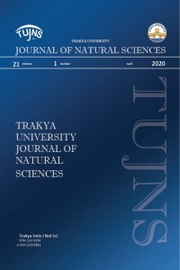 Trakya University Journal of Natural Sciences