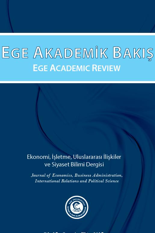 Ege Academic Review