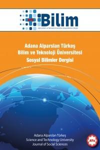 Artıbilim Adana Alparslan Türkeş Bilim ve Teknoloji Üniversitesi Sosyal Bilimler Dergisi