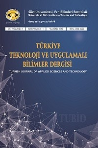Turkish Journal of Applied Sciences and Technology
