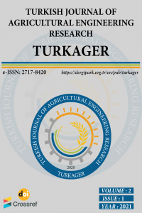 Turkish Journal of Agricultural Engineering Research