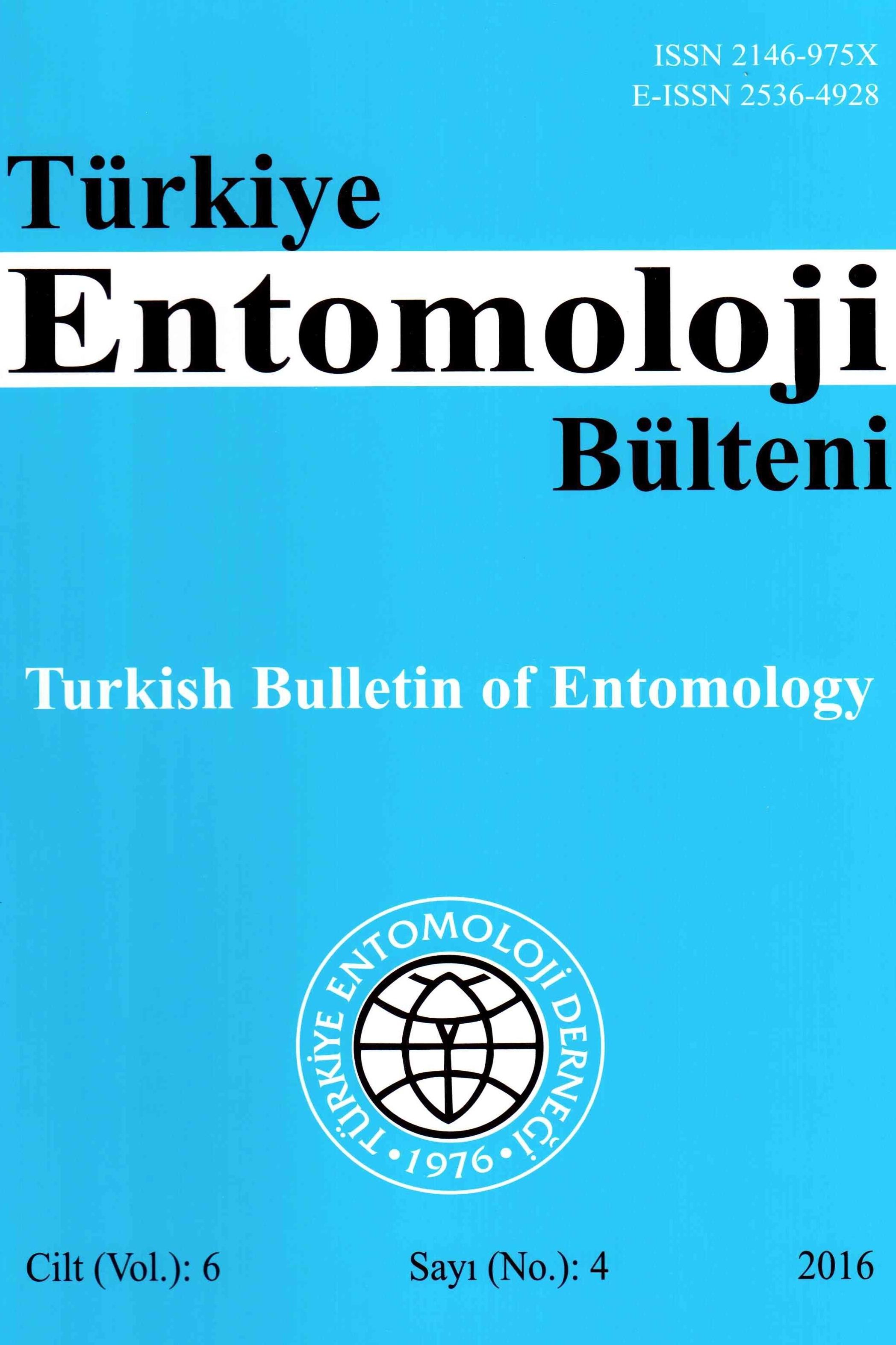 Türkiye Entomoloji Bülteni