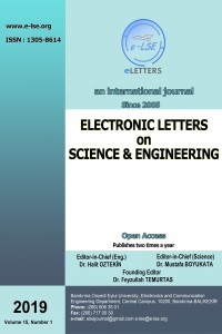 Electronic Letters on Science and Engineering