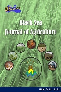 Black Sea Journal of Agriculture